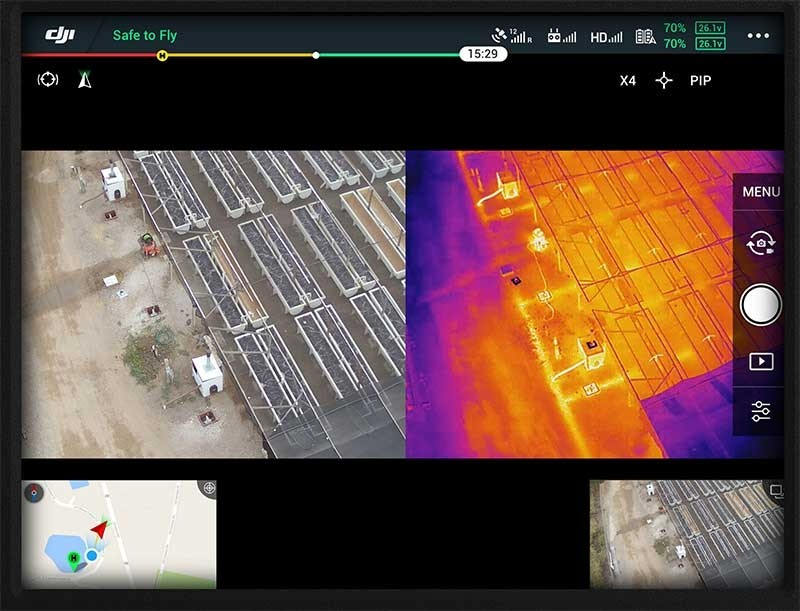 infrared drone inspections