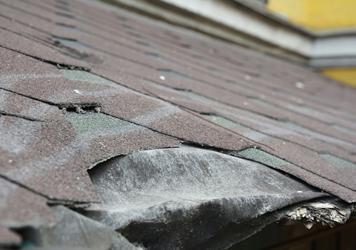 roof damage repairs
